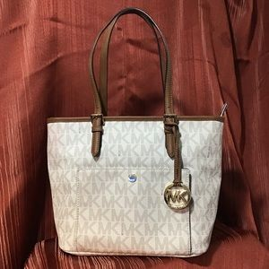 Michael Kors Creme Handbag
